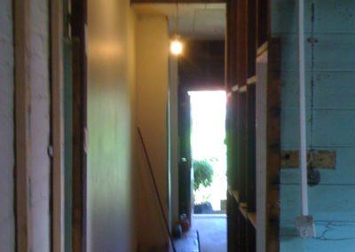 Hallway Before - From Back Door