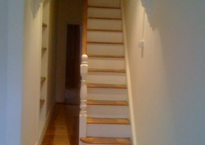 Hallway and Stairs After